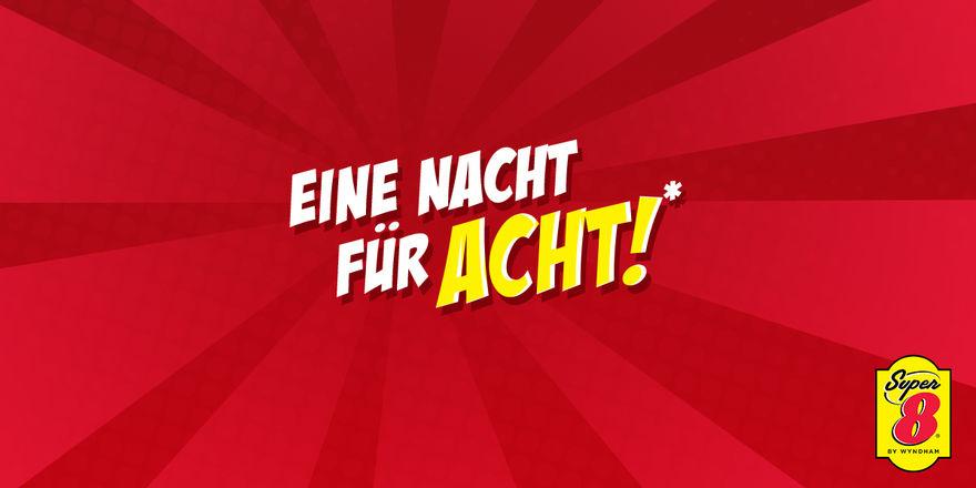 """Deutschlandweite Marketingaktion """"Eine Nacht für acht"""""""