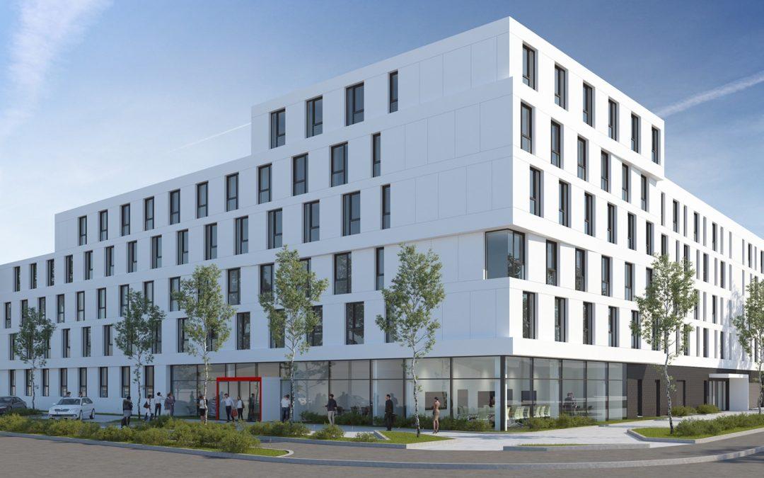 Augsburg wird um 412 Betten reicher / GS Star erweitert Hotelportfolio am Standort Augsburg / Eröffnung Juli 2020